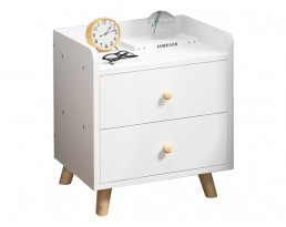 Bedside Table A1925 (10128) - White
