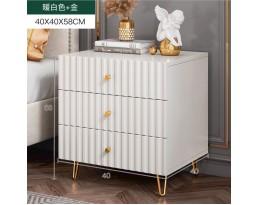 (Pre-order)Bedside Cabinet P150 3 Drawer - White