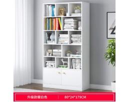 (Pre-order)Book Cabinet A10668 60/80/100cm- White