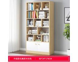 (Pre-order)Book Cabinet A10668 60/80/100cm- Light Wooden