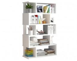 Book Cabinet D40013 (w) 80cm - White