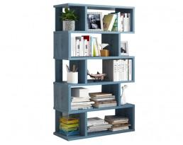 Book Cabinet D40013 (w) 80cm - Blue