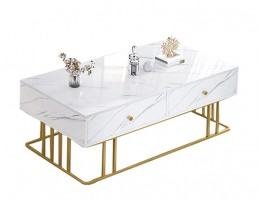 Coffee Table E5158 - Marble Print