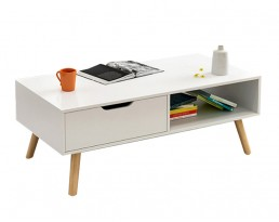 Coffee Table H26S - White