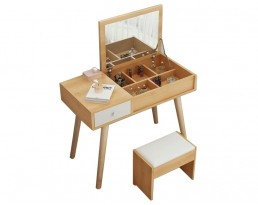 Dressing Table A107 80cm - Wooden Brown