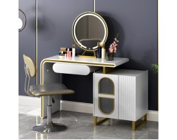(Pre-order) Dressing Table Champagne - White