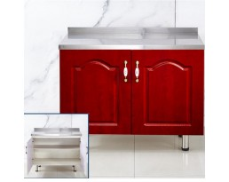(Pre-order)Kitchen Cabinet China 2 Doors - White/Light Wooden/Red/Blue