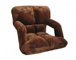Lazy Sofa Floor Chair Type C - Brown