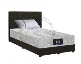 Spring Mattress 8 Inch + Bedframe - Super Single