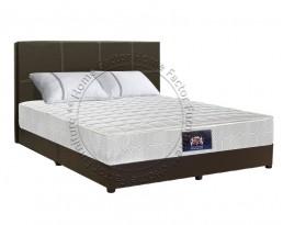 Spring Mattress 8 Inch + Bedframe - Queen