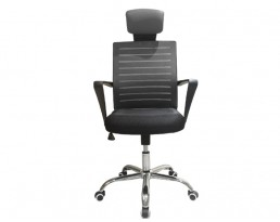 Office Chair 880- Black Frame Black Mesh