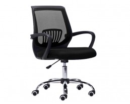 Office Chair 882 -Black Frame Black Mesh
