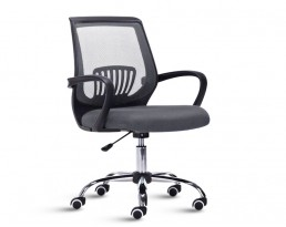 Office Chair 882 -Black Frame Grey Mesh