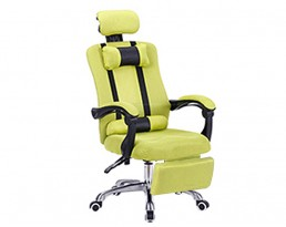 Director Chair with Leg Rest - Green