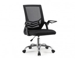Office Chair QXI-12-Black Frame Black Mesh