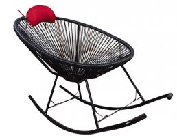 Outdoor Rocking Chair - Black