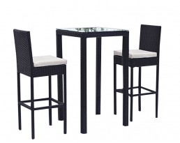 Outdoor Bar Table Set 902 - Black