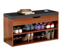 Shoe Cabinet Type A 60cm  - Dark Brown