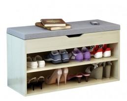 Shoe Cabinet Type A 60cm - Light Wooden