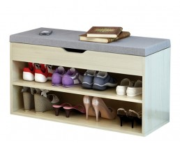 Shoe Cabinet Type A 60cm - Light Wooden