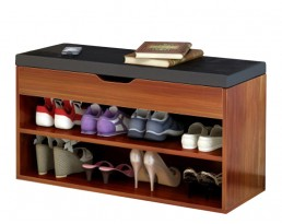 Shoe Cabinet Type A 60cm  - Dark Brown