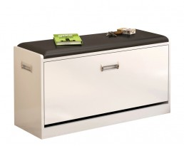 Shoe Cabinet Type B 63cm - White