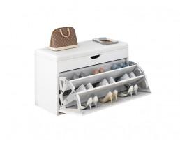 Shoe Cabinet Type B 60cm- Full White