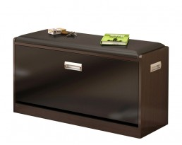 Shoe Cabinet Type B 63cm - Dark Brown