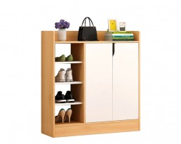 Shoe Cabinet Type D 2001 - Wooden Brown