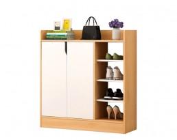 Shoe Cabinet Type D 2001 - Wooden Brown