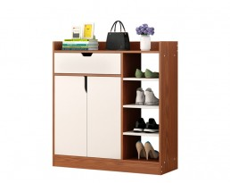 Shoe Cabinet Type D 2001 - Dark Brown