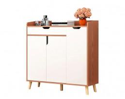 Shoe Cabinet Type E B19 - Dark Brown