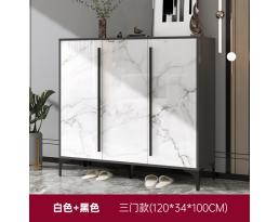 (Pre-order) Shoe Cabinet 706 120cm- White Black