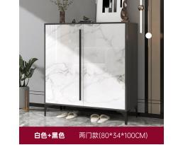 (Pre-order) Shoe Cabinet 706 80cm - White Black