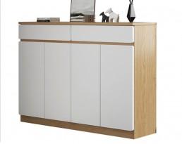 Shoe Cabinet Type F 10256 - Light Wooden