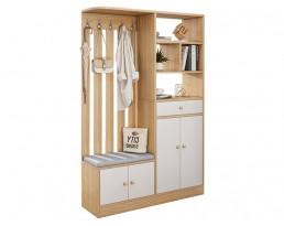 Shoe Cabinet C16E - Light Wooden