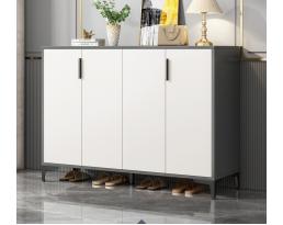 (Pre-order) Shoe Cabinet B216 120cm - White