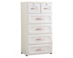 Storage Cabinet Type D - White (4-6 Tier)