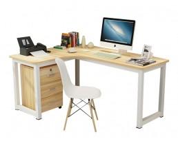 Study Table 546 Left Side - White Leg