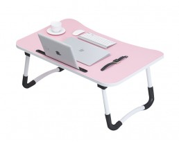 Foldable Laptop Table - Pink