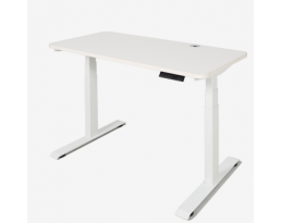 (Pre-order) Height Adjustable Table - White