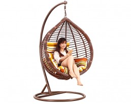 Swing Chair S619 - Full Brown