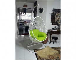 Swing Chair S632 - Full White
