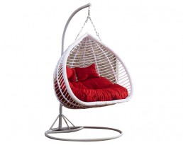 Double Swing Chair S816 - Full White