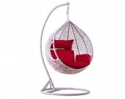 Swing Chair S817 - Full White
