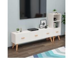 (Pre-order) 3 Drawer TV Console - White