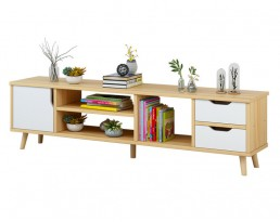TV Console A1945 140cm  - Wooden Brown