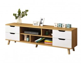 TV Console F15S 140cm  - Wooden Brown