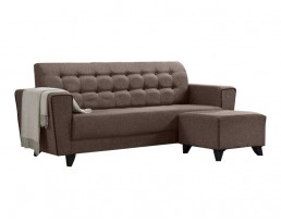 Sofa 3009 (140cm / 180cm) - Brown