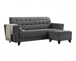 Sofa 3009 (140cm / 180cm) - Grey